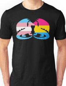 Trans Pansexual Pride Dragons Unisex T-Shirt