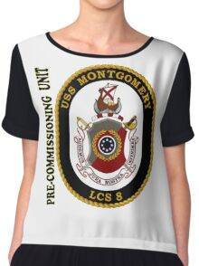 LCS-8 USS Montgomery Pre-Commissioning Unit Chiffon Top