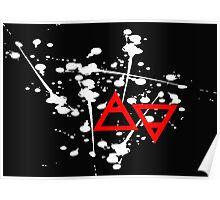 Air&Earth (AV) Ink Poster
