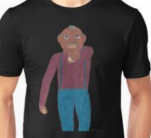 Angry Old Man (Image Only) Unisex T-Shirt