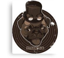 Steam Pug Canvas Print