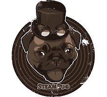 Steam Pug Photographic Print
