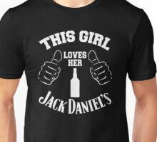 This Girl Loves Her Jack Daniel's Unisex T-Shirt