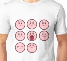 Kirby Faces Unisex T-Shirt