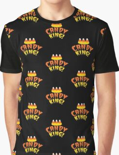 CANDY KING! Halloween crown with candy corn Graphic T-Shirt
