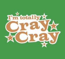 I'm totally CRAY CRAY with stars One Piece - Short Sleeve