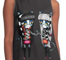 Monster High Chibi Purrsephone & Meowlody Contrast Tank
