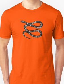 King snake - Black Unisex T-Shirt