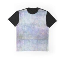 """Jane Austen charming quote  """"I am the happiest creature in the world. Graphic T-Shirt"""