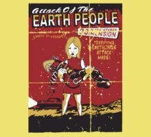 Attack Of The Earth People One Piece - Short Sleeve