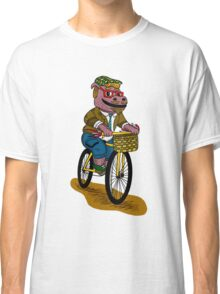 PUN INTENDED - HIPSTERPOTAMUS - HIPSTERS PARODY - FUNNY DESIGN Classic T-Shirt