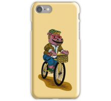 PUN INTENDED - HIPSTERPOTAMUS - HIPSTERS PARODY - FUNNY DESIGN iPhone Case/Skin