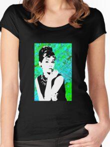 Aubrey Women's Fitted Scoop T-Shirt