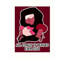 Garnet the Comedian Art Print