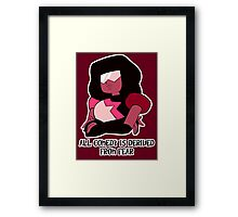 Garnet the Comedian Framed Print