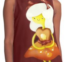 Adventure Time Breakfast Princess Contrast Tank