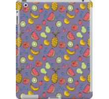 Tropical Blast in Purple iPad Case/Skin