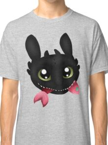 How To Train Your Dragon Toothless Eating Salmon Classic T-Shirt
