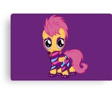 My Little Pony Cutie Mark Crusader Scootaloo Canvas Print