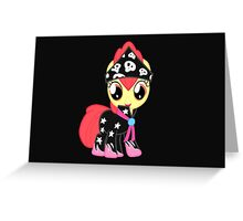 My Little Pony Cutie Mark Crusaders Apple Bloom Greeting Card