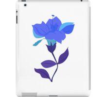 Cyan Blue Lily iPad Case/Skin