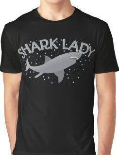 Shark Lady  Graphic T-Shirt
