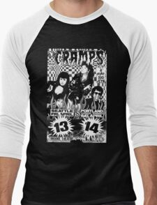 The Cramps (Seattle & Portland shows) Men's Baseball ¾ T-Shirt