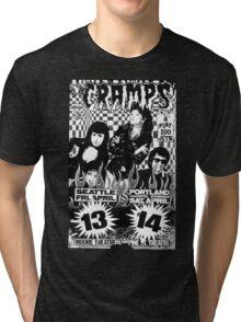 The Cramps (Seattle & Portland shows) Tri-blend T-Shirt