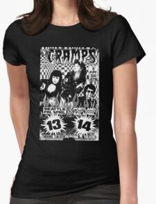 The Cramps (Seattle & Portland shows) Womens Fitted T-Shirt