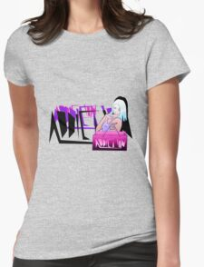 Shopping addict Womens Fitted T-Shirt