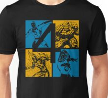 The Fantastic Four • 4 Squares Unisex T-Shirt