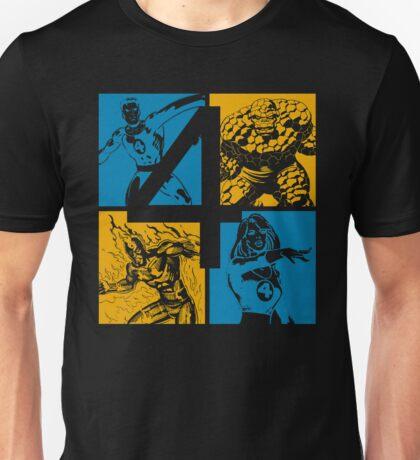 The Fantastic Four • 4 Squares Unisex T-Shirt