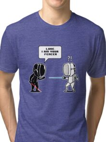 Luke.. I Am Your Fencer Tri-blend T-Shirt