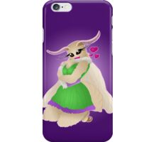 The Moth Girl iPhone Case/Skin