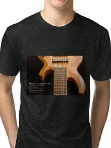 Music is a Moral Law Tri-blend T-Shirt