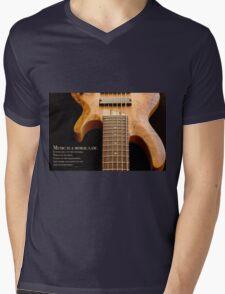 Music is a Moral Law Mens V-Neck T-Shirt