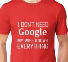 wife, Google, Internet, Smart Unisex T-Shirt