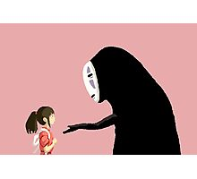 Spirited Away Pixel  Photographic Print