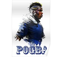 paul pogba celebration Poster