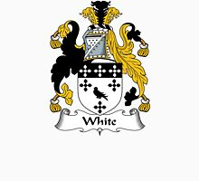 White Coat of Arms / White Family Crest Unisex T-Shirt