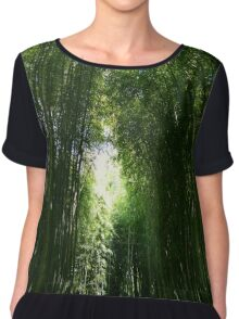 Bamboozled Women's Chiffon Top