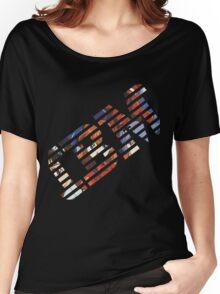 Vaporwave IBM/Neon Genesis Evangelion Mashup Women's Relaxed Fit T-Shirt