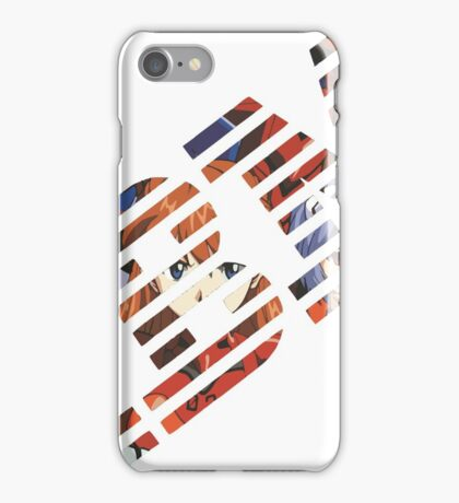 Vaporwave IBM/Neon Genesis Evangelion Mashup iPhone Case/Skin