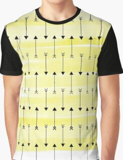 Yellow Arrows Graphic T-Shirt