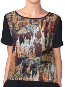 Hoodoos Bryce Canyon National Park Utah Women's Chiffon Top