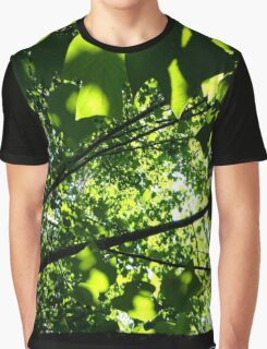 Below the Sun-Bathed Leaves Graphic T-Shirt