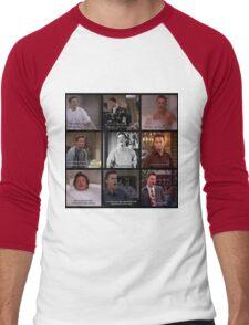Chandler Bing Quotes Men's Baseball ¾ T-Shirt