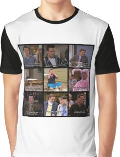 Chandler Bing Quotes Graphic T-Shirt