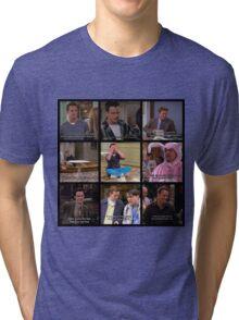 Chandler Bing Quotes Tri-blend T-Shirt