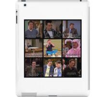 Chandler Bing Quotes iPad Case/Skin